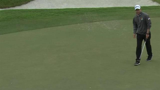 Peter Malnati sinks 23-footer for birdie at Houston Open