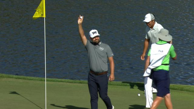Today's Top Plays: Ryan Moore's Island Green ace is the Shot of the Day
