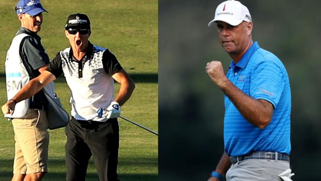 Stewart Cink and Brian Gay notch 600 starts
