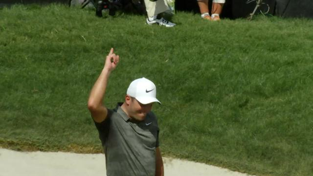 Today's Top Plays: Francesco Molinari's clutch birdie on No. 18 is the Shot of the Day