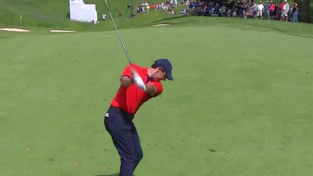 Rory McIlroy sticks approach to set up birdie at RBC Canadian