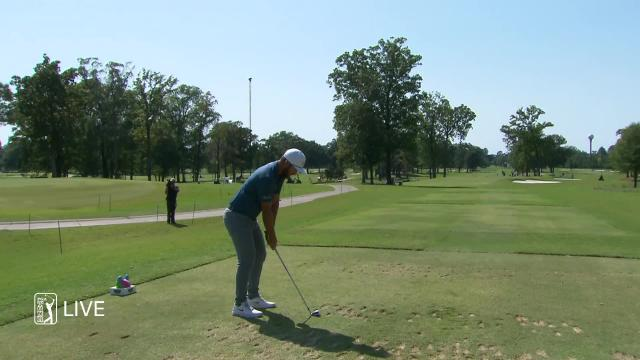 Kevin Chappell makes birdie on No. 4 in Round 3 at Sanderson Farms