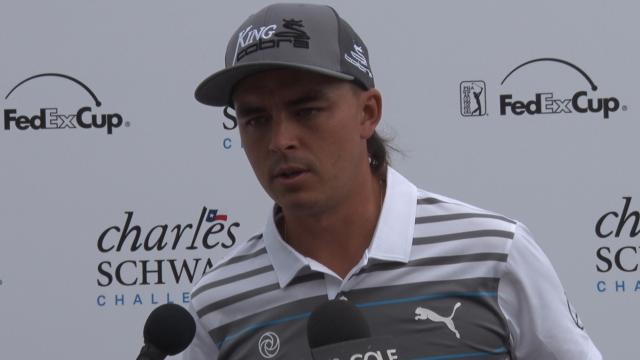Rickie Fowler on Colonial Country Club before Charles Schwab
