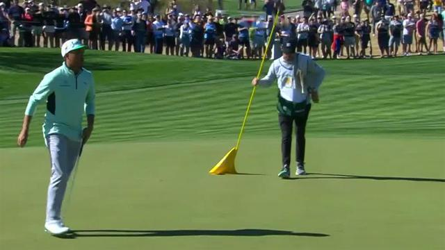 Rickie Fowler birdies No. 8 at Waste Management