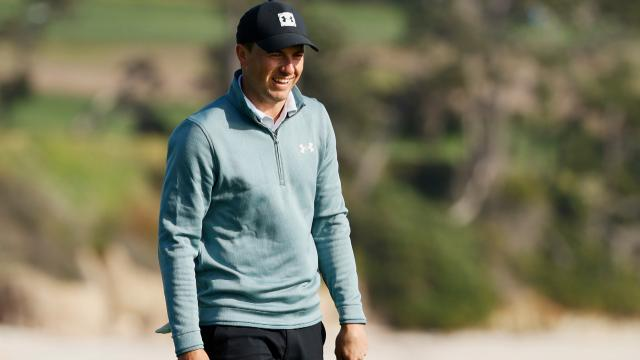 Spieth's second hole out, Berger drives the fourth, Day's beard