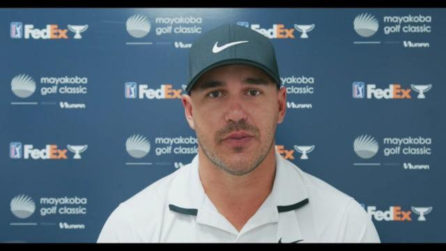 PGA TOUR | Brooks Koepka on the PGA TOUR's new Strategic Alliance with the European Tour before Mayakoba