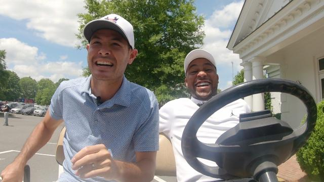 Parallel Parking with Harold Varner III and NASCAR Stars