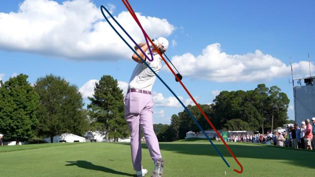 Swing tracers from every Ryder Cup player