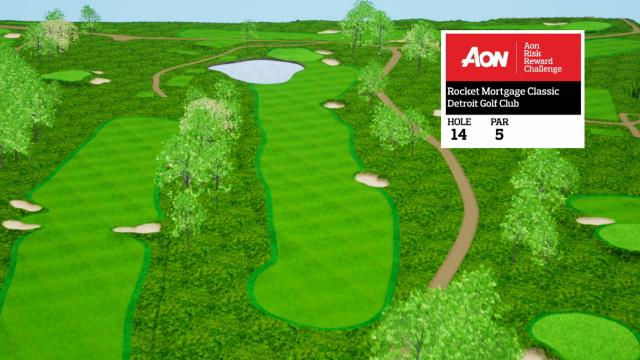 Rocket Mortgage Classic hole overview at Detroit Golf Club