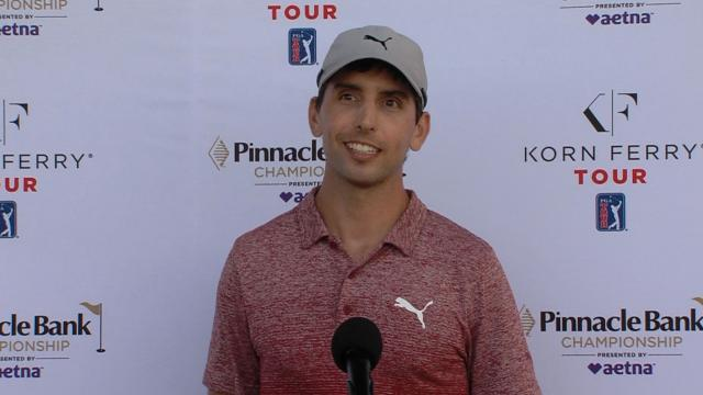 Seth Reeves interview after winning Pinnacle Bank
