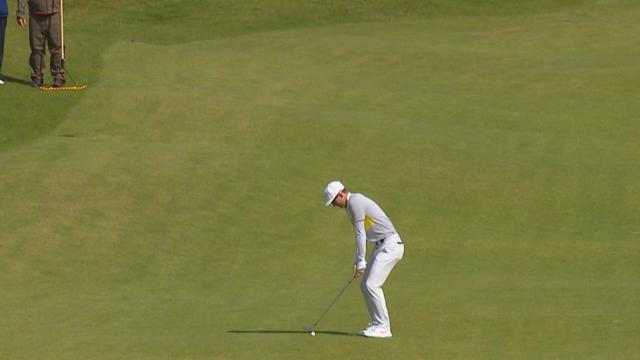 Today's Top Plays: Dylan Frittelli's hole-out eagle for the Shot of the Day