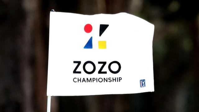 Tiger Woods and Gary Woodland tie for the lead at ZOZO