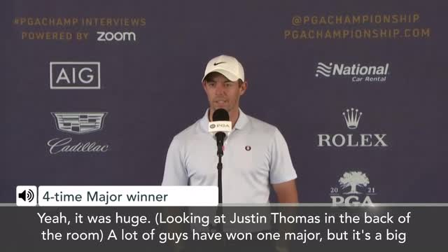 """McIlroy pokes fun at Thomas about the """"big hurdle"""" to win second major"""