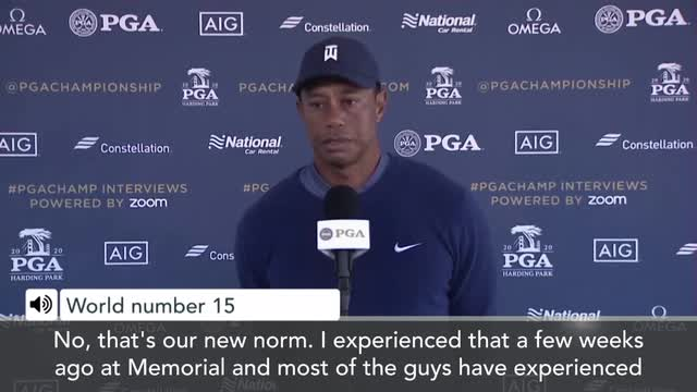 'Our new norm' – Tiger Woods on playing PGA Championship without fans