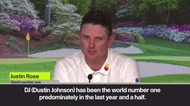 Rose to use his World No 1 rankings as inspiration ahead of 83rd Masters