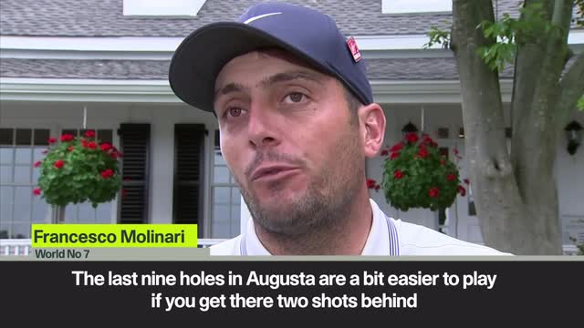 'It's easier to play if you are two shots behind' Molinari