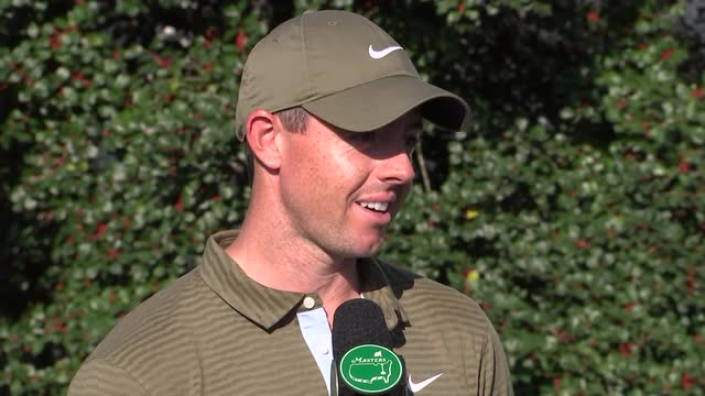 McIlroy and Rose reaction from the Masters second round