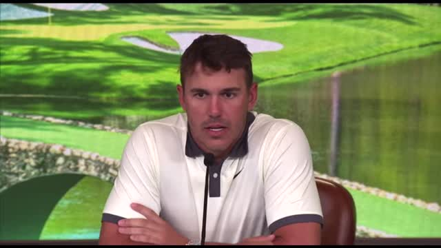 'I can beat a lot of people mentally' says joint Masters leader Brooks Koepka