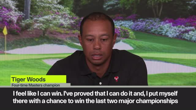 Woods believe he can win title in 22nd Masters appearance