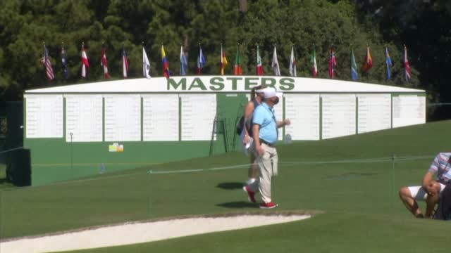 Augusta US Masters | Patrons return to Augusta National during Monday practice