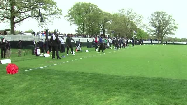 Molinari and Fitzpatrick practice ahead of PGA Championship