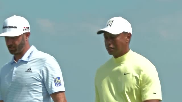 Woods, Johnson, Spieth, out on Royal Portrush course ahead of Open Championships