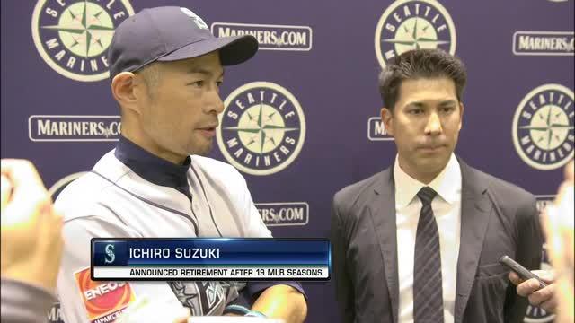 Reaction to the retirement of Japanese star Ichiro Suzuki