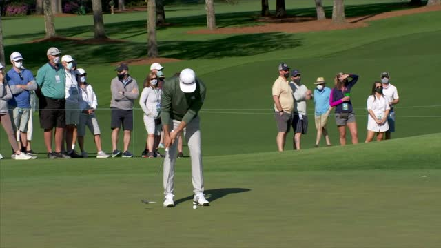 Augusta US Masters | Defending champion Dustin Johnson amongst those practicing at Augusta