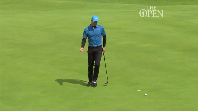 Holmes takes one-shot lead as McIlroy and Woods endure nightmare starts in The Open Championship