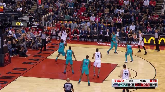 Jeremy Lamb hits miracle 3 from half-court to lift Hornets over Raptors