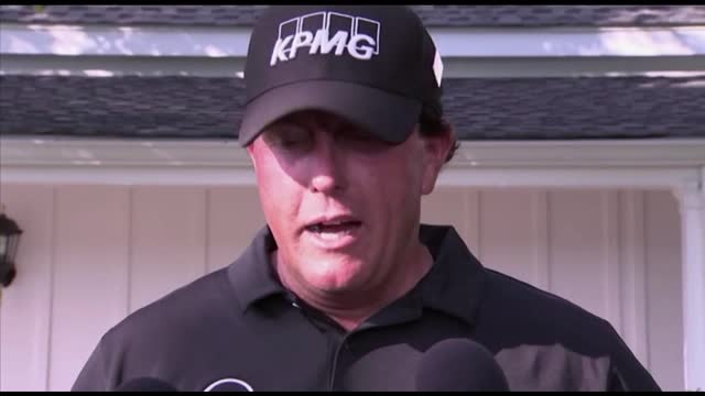 'I could still do it' -Mickelson optimistic despite being 7 shots off Masters lead