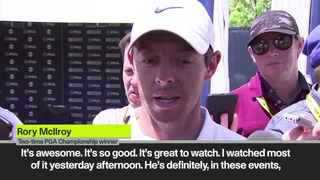 'Koepka on a different level' – McIlroy