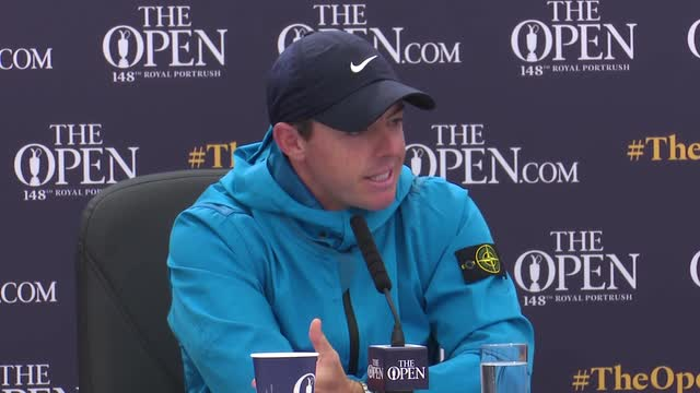 McIlory loving the support in Northern Ireland ahead of The Open