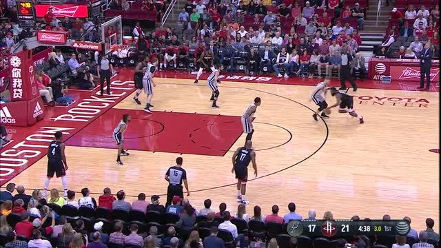 Harden ties career best with 61, Rockets beat Spurs 111-105