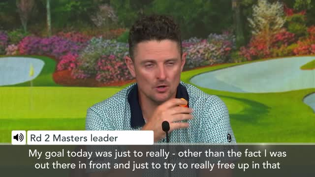 Augusta US Masters | 'I'm not confident' Masters leader after round 2 Justin Rose