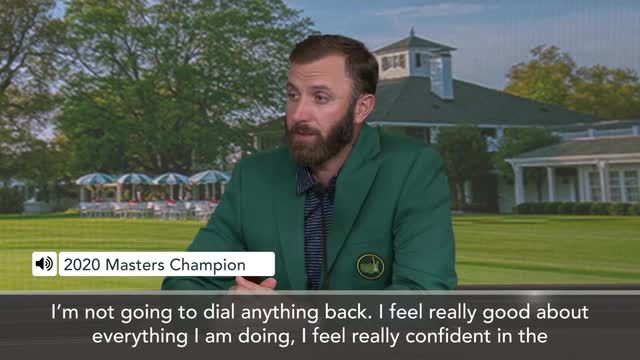 Masters winner Johnson outlines future plans