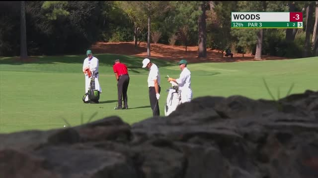 Woods shoots ten on par-three hole, hitting three in water