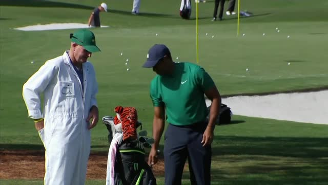 Augusta US Masters | Tiger Woods amongst golf stars testing the Autumn Augusta course