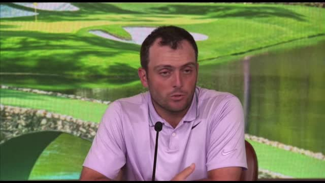 Masters leader Molinari praises Woods as a 'sporting icon' ahead of final round