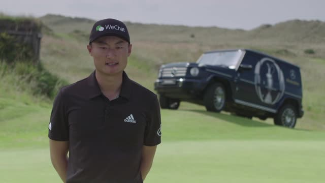 "Li Haotong hopes for career ""breakthrough"" at The Open"
