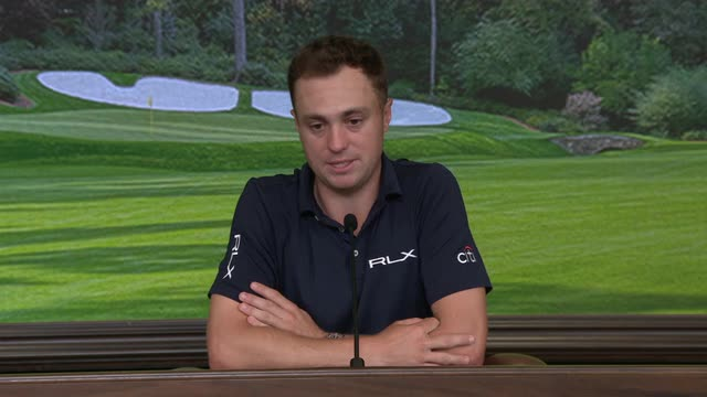 Justin Thomas previews The Masters