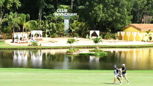 Four tie for the lead after 36 holes at Wyndham
