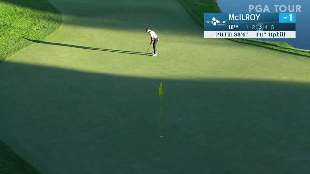 Rory McIlroy birdies No. 18 in Round 2 at THE CJ CUP