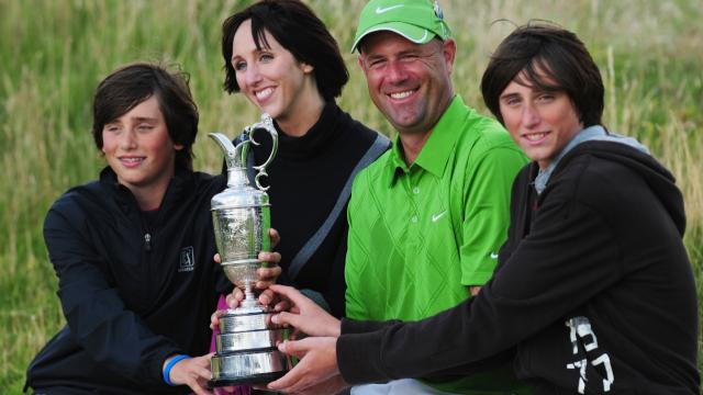 Stewart Cink named Player of the Year on 1996 Korn Ferry Tour