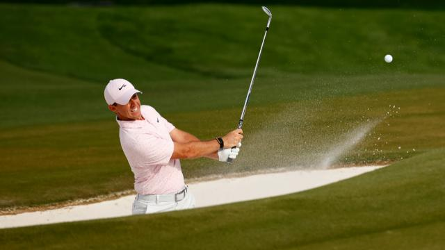 Today's Top Plays: Rory McIlroy's masterful bunker shot is Shot of the Day