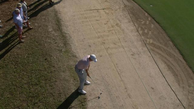 Today's Top Plays: Brendon Todd's approach from the gallery for the Shot of the Day