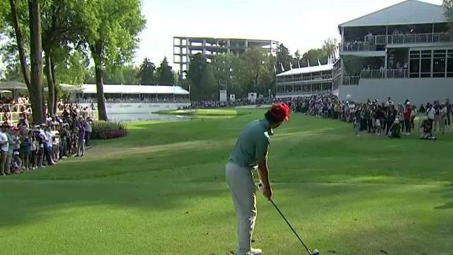 Abraham Ancer sticks tee shot to set up birdie at WGC-Mexico