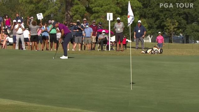 Jason Day birdies No. 16 in Round 3 at Vivint Houston Open