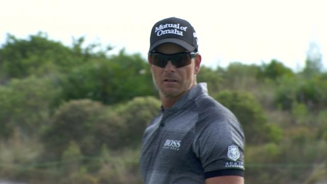 Today's Top Plays: Henrik Stenson's solid approach to set up eagle for the Shot of the Day