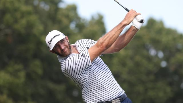 Dustin Johnson takes the lead at THE NORTHERN TRUST